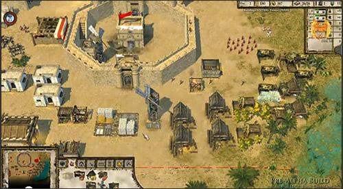 Kadr z gry Stronghold Crusader 2 Pre-Alpha