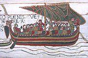 Flota Wilhelma zmierzająca w kierunku Anglii