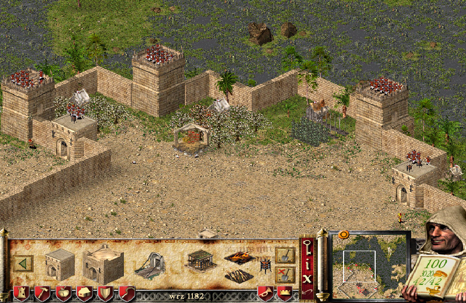 Stronghold: Crusader is a standalone expansion of the game Stronghold 2001